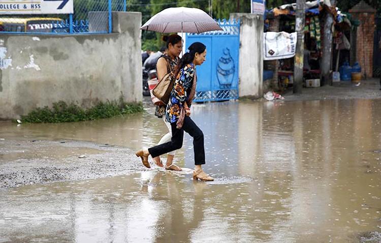 मनसुन सक्रिय : तीन दिन देशभर वर्षा हुने