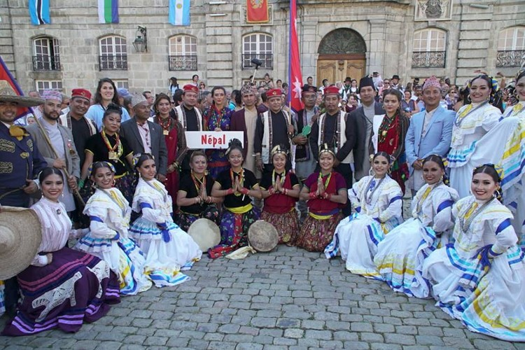 फ्रान्समा नेपाली कला प्रदर्शनी