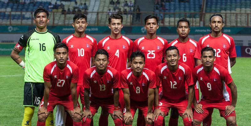 नेपाल र जाेर्डनबीचकाे विश्वकप छनाेट खेल आज