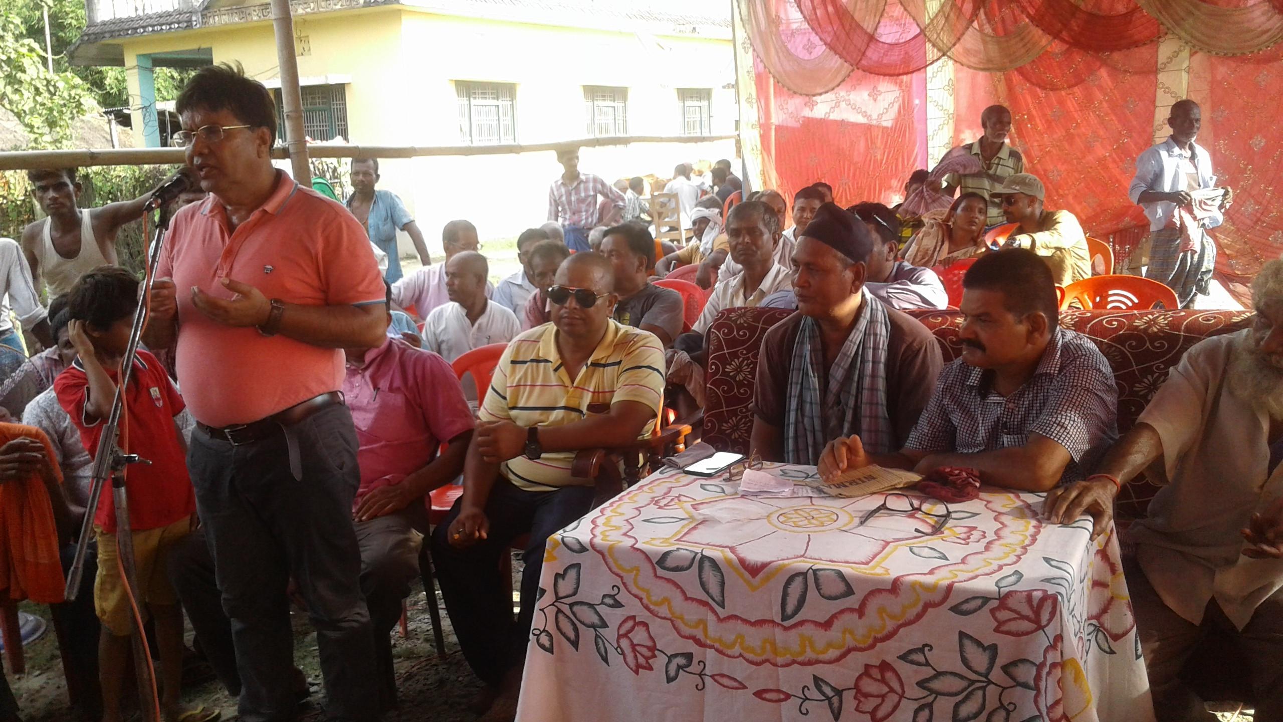 'जनताको घरमा नेता' कार्यक्रमको पहिलो चरणको अभियान पूरा