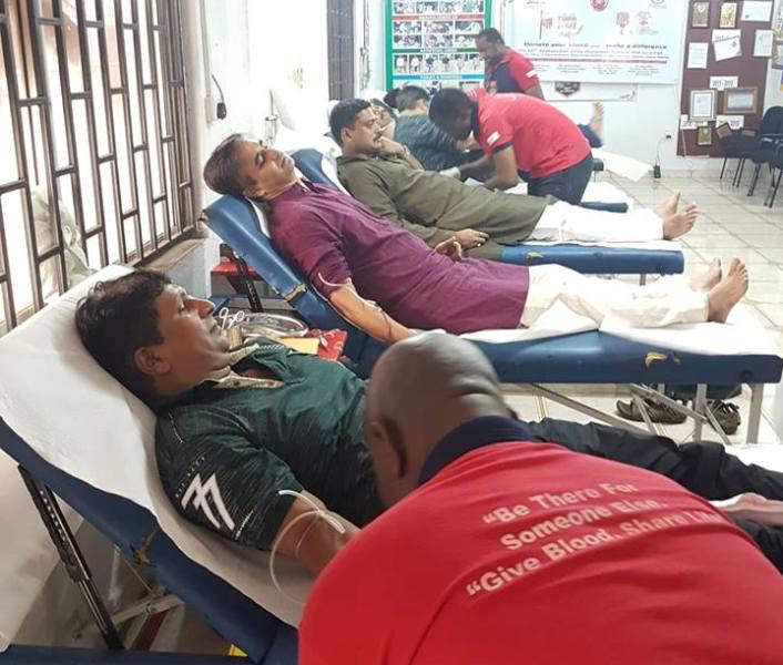 एनआरएनए नाइजेरियाको रक्तदान कार्यक्रम सम्पन्न