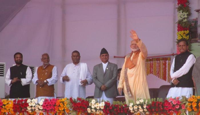 भारतीय प्रधानमन्त्री मोदी जनकपुर आउँदै