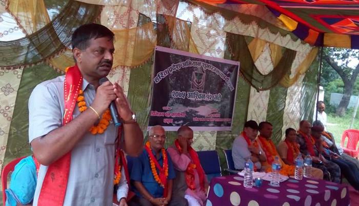 कानूनमन्त्री यादव भन्छन्–जंगल मासेर निजगढमा अन्तर्राष्ट्रिय विमानस्थल बनाउन दिन्नाैं