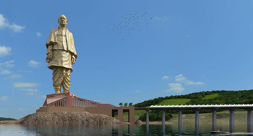 भारतमा बन्यो विश्वकै अग्लो मूर्ति