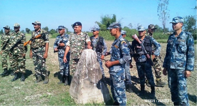 नेपाल-भारत सिमा स्तम्भलाई थप व्यवस्थित गरिने