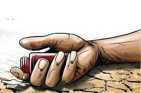 बाली नोक्सान भएपछि किसानद्धारा आत्महत्या