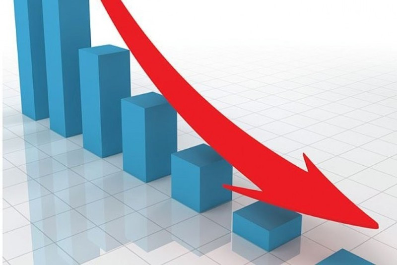 शेयर बजार नौ अङ्कले घट्यो