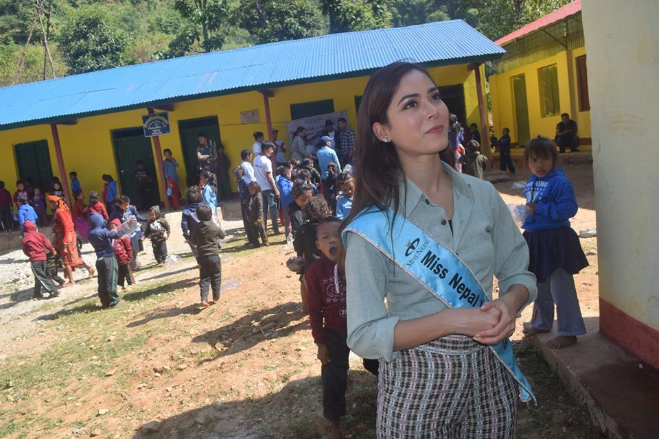 चेपाङ बस्तीमा भेटिइन् मिस नेपाल