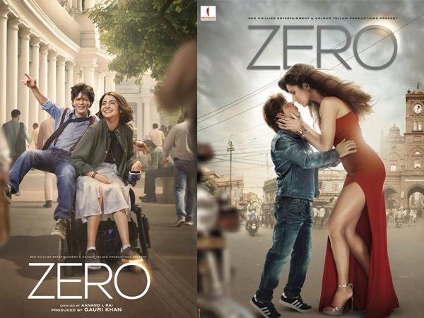शाहरुख खानको अहिलेसम्मकै महंगो फिल्म 'जिरो' को पोष्टर सार्वजनिक