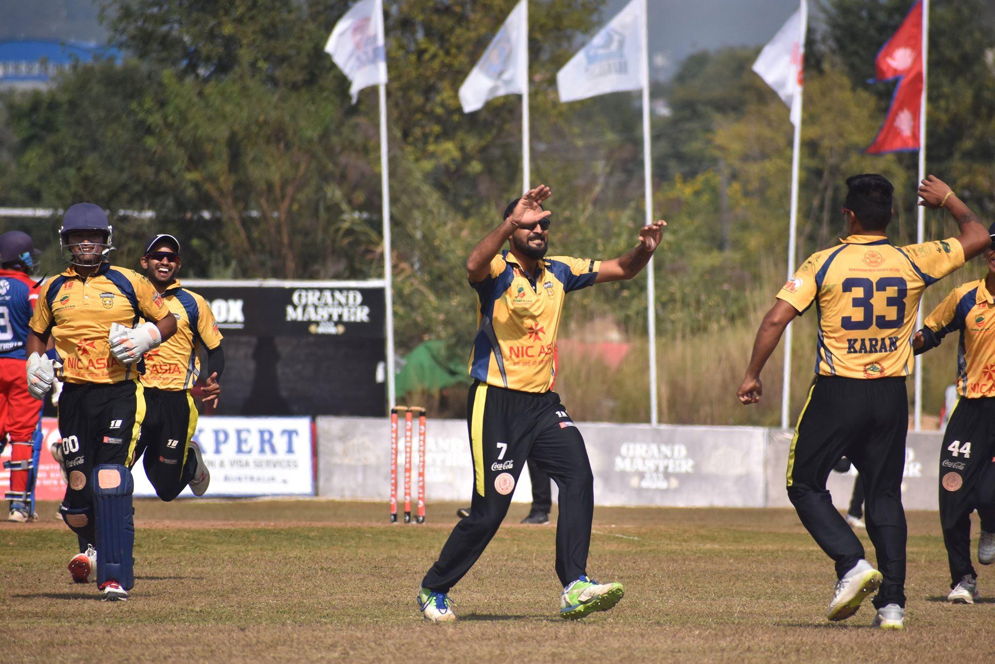 पीपीएल क्रिकेट: उपाधिका लागि पोखरा र चितवन राइनोज भिड्ने