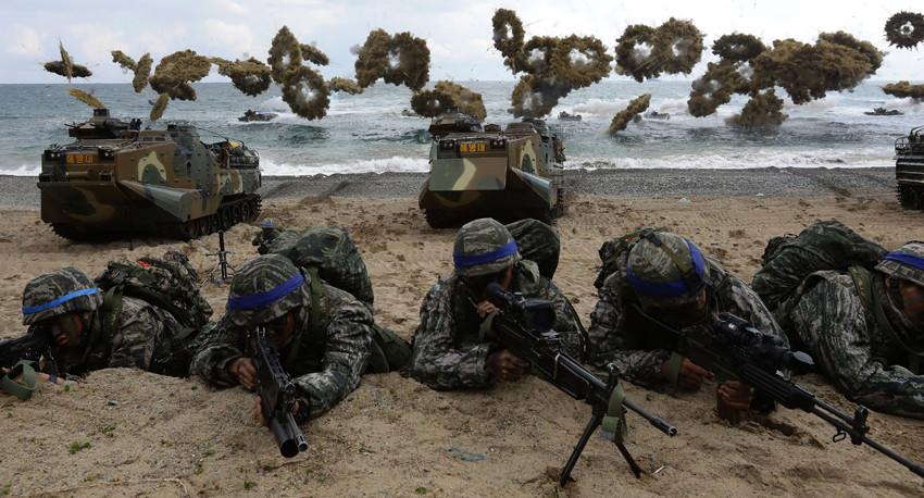 अमेरिका दक्षिण कोरिया संयुक्त सैन्य अभ्यास हुने