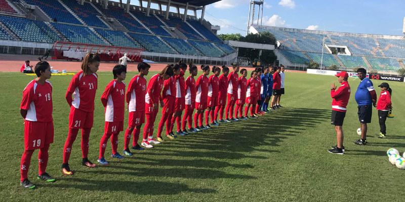 ओलम्पिक छनोट फुटबल : नेपाल आज भारतसँग भिड्दै