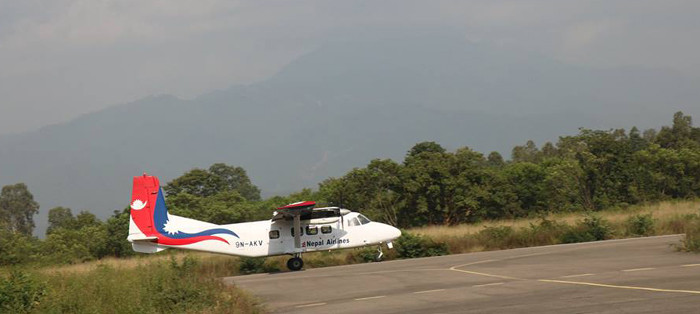 दाङ–काठमाडौं हवाइ सेवा अब सातामा तीन दिन