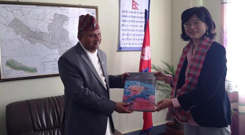 'लुम्बिनीको विकासमा चिनियाँ चासो'