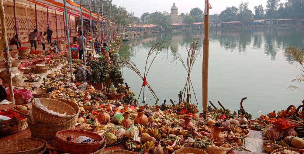 दुलहीझै सिंगारिए जनकपुरका जलाशय (फाेटो फिचर)