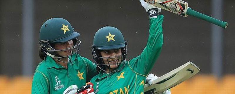 महिला टी २० विश्वकपमा पाकिस्तान विजयी
