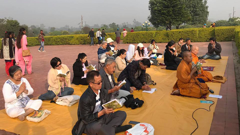 लुम्बिनीमा आजदेखि त्रिपिटक वाचन सुरु