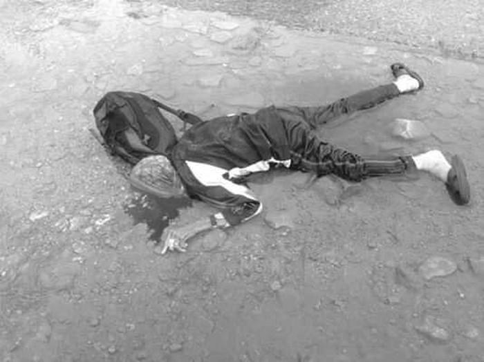 लमजुङमा स्कुल बसको ठक्करले एक वृद्धको मृत्यु