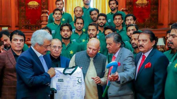 पाकिस्तानको हकी टिम भारतमा विश्वकप खेल्ने पक्का