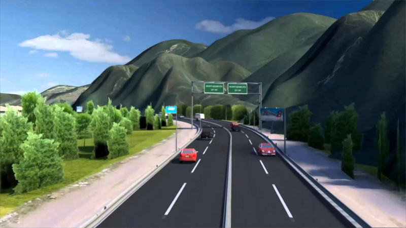 काठमाडौं–तराई द्रुतमार्ग निर्माण तीव्र गतिमा