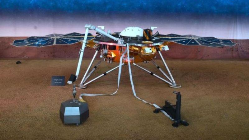 नासाकाे 'इन्साइट ल्याण्डर' यान मंगल ग्रहमा अवतरण