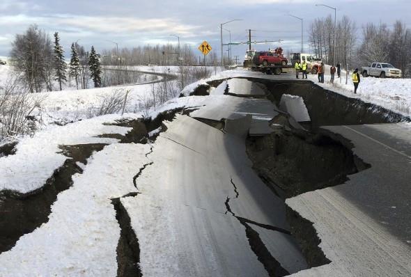 अमेरिकामा ७ म्याग्नेच्यूडकाे भूकम्प गयाे
