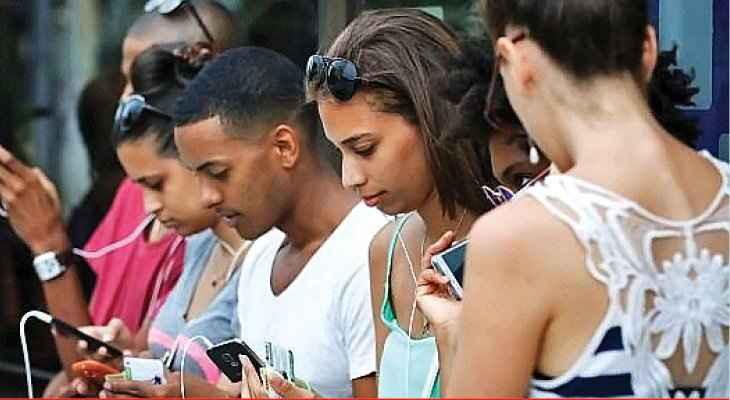 क्युबामा पहिलोपटक मोबाइल इन्टरनेट