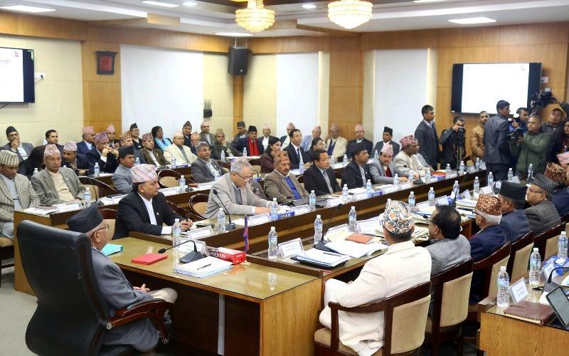अन्तर प्रदेश परिषद् बैठक सकियो, प्रतिवेदन बनाउन समिति गठन