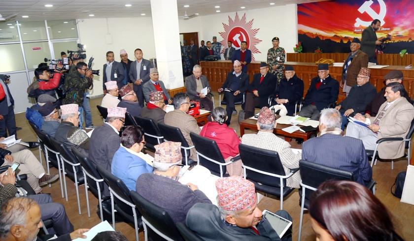 नेकपामा नेतृत्वको स्वेच्छाचारीविरुद्ध ४० नेता गोलबद्ध