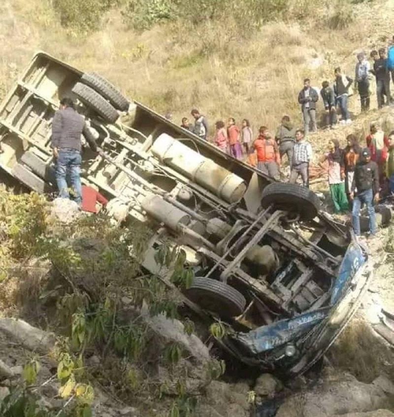 दाङमा १० महिनामा १३४ सवारी दुर्घटना, ६६ जनाको मृत्यु
