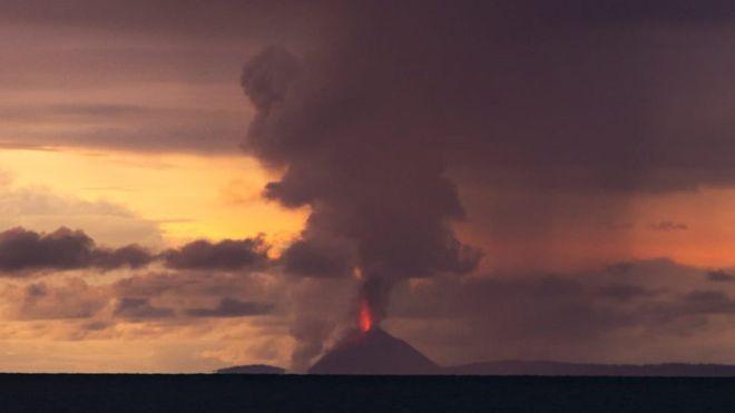 ज्वालामुखीपछिको आँधीका कारणइन्डोनेसियामा २२२ जनाको मृत्यु