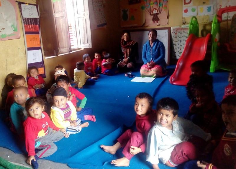 सरकारी बेवास्ताका कारण बालविकास केन्द्र सञ्चालनमा समस्या