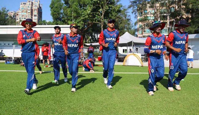 नेपाल र युएईबीच माधमा  एक दिवसीय क्रिकेट हुने