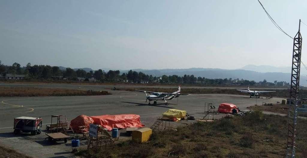 कार्गोले सुर्खेत विमानस्थलमा चहलपहल