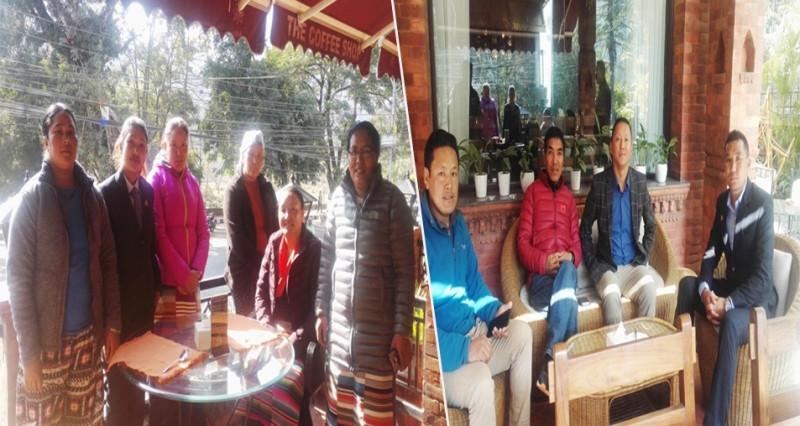 सोलुखुम्बुको गाउँपालिकाका जनप्रतिनिधिको बैठक पोखरामा