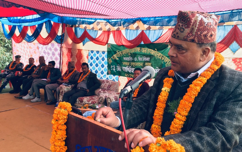 वनलाई सम्बृद्धिसँग जोडेर लैजानुपर्छः मन्त्री नेपाल