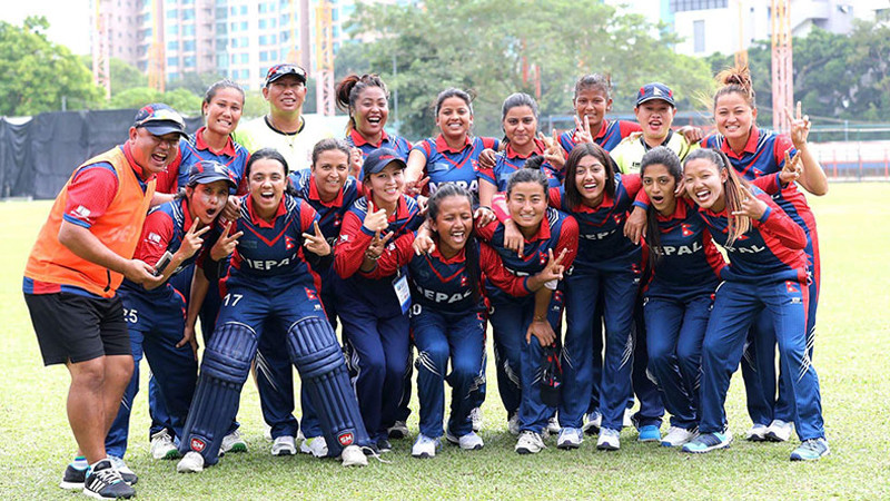 नेपाल टी–२० महिला स्म्यासको फाइनलमा