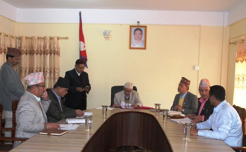 हटियामा एकीकृत नमूना बस्ती बसाउँदै प्रदेश  सरकार
