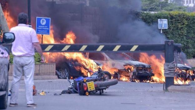 केन्याको एक होटेलमा बम विस्फोट ६ को मृत्यु