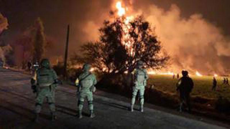 मेक्सिकोमा भएको विस्फोटमा २० को ज्यान गयाे