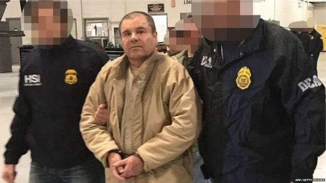 मेक्सिकोका लागूऔषध तस्कर गुजम्यान १० आरोपमा दोषी ठहर