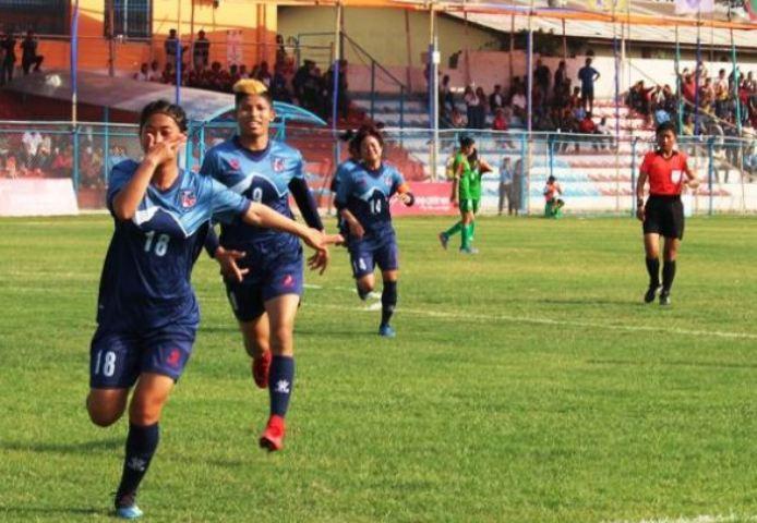 राष्ट्रिय महिला फुटबल : दोस्रो चरणको खेल तालिका सार्वजनिक