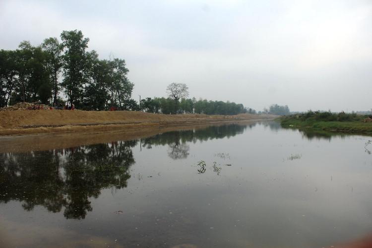 रुपन्देहीमा बन्दै छ देशकै नमूना जलभण्डारसहितको सिंचाई आयोजना(फाेटाेसहित)