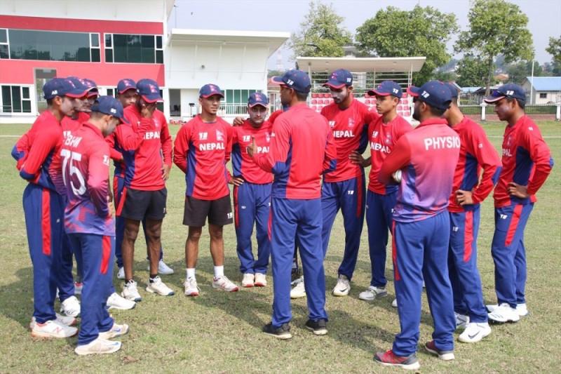 क्रिकेट टोलीको प्रशिक्षण मङ्सिर दोस्रो सातादेखि