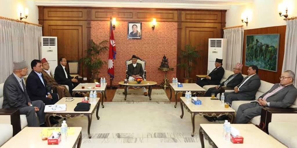 बाँकी कामकाे टुंगाे लगाउन नेकपा सचिवालय बैठक भोलि बस्दै