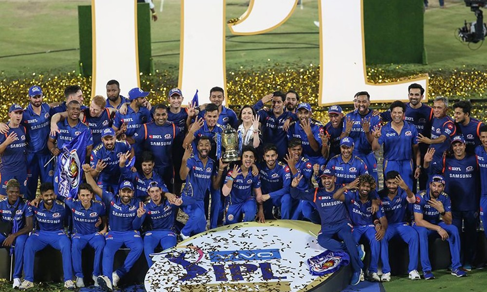 आईपीएलकाे उपाधि मुम्बईलाई