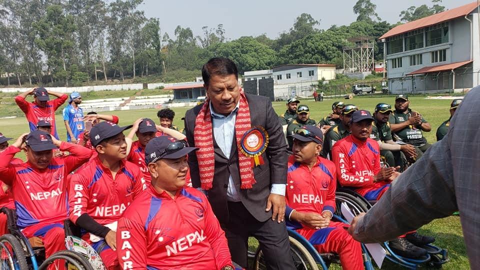 ह्विलचियर एसिया कप क्रिकेट : पहिलो खेलमा नेपाल पराजित