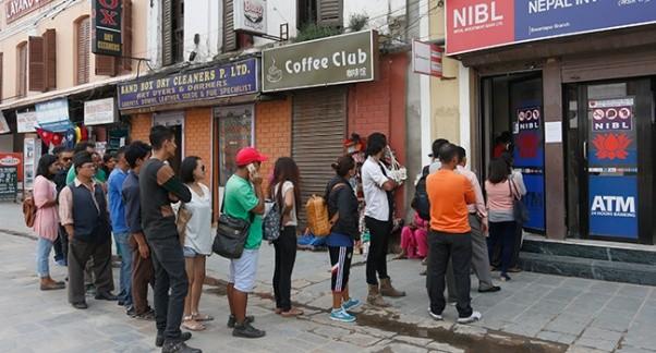 एटिएम मेसिनमा नेपाली भाषा राख्न राष्ट्र बैंकको निर्देशन