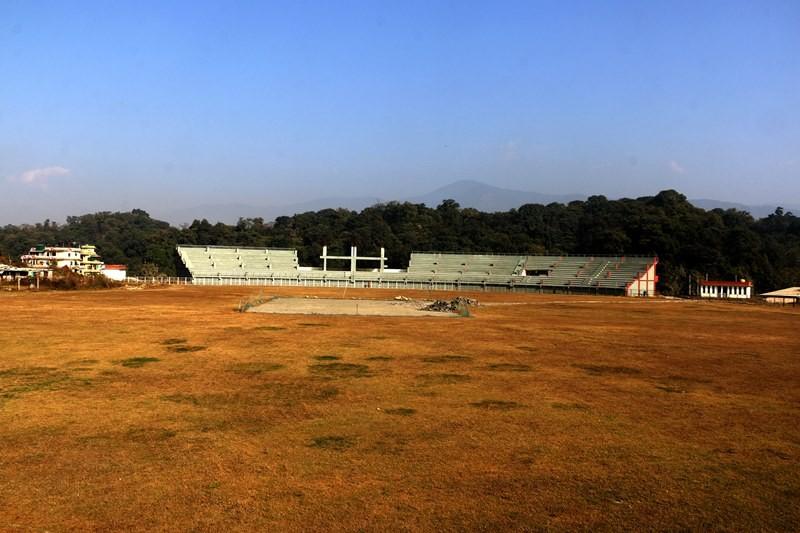 बल्ल सञ्चालन भयाे मुलपानी क्रिकेट मैदान