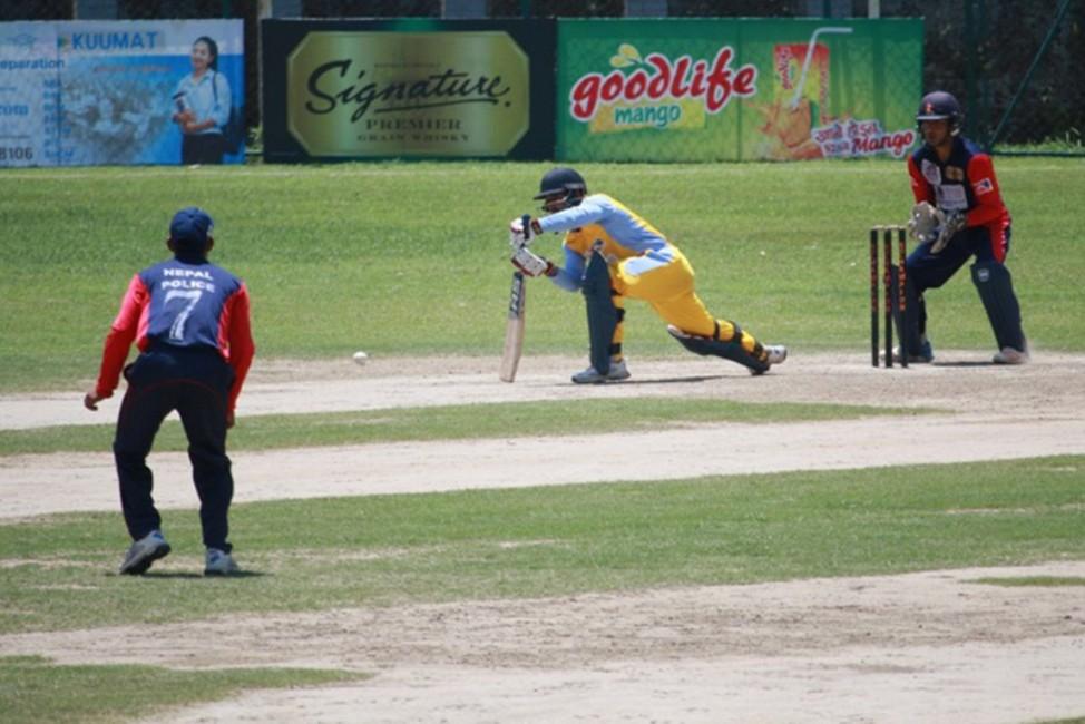 प्रधानमन्त्री कप क्रिकेट: एपीएफकाे लगातार दोस्रो जित